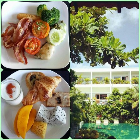 The Plantation Urban Resort and Spa: Breakfast