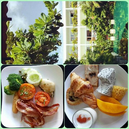 The Plantation - urban resort & spa : Breakfast