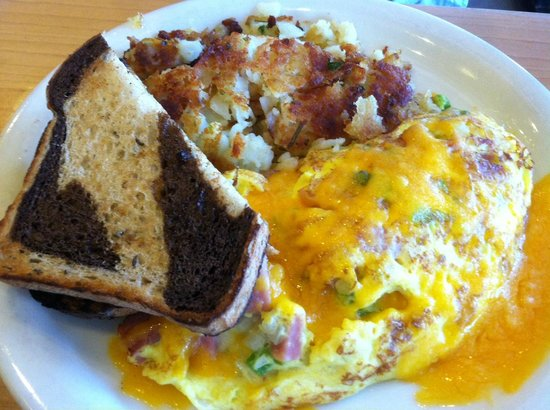 Crackers & Co. Cafe: Omellette