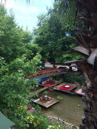 Arikanda River Garden Hotel: Вид из номера