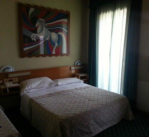 Hotel Europa: A midi, beaucoup de clarté dans ma chambre