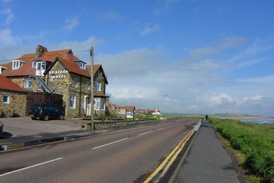 St Aidan Hotel: The hotel on the coast
