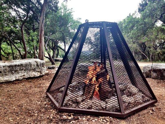 Travaasa Austin: Campfire