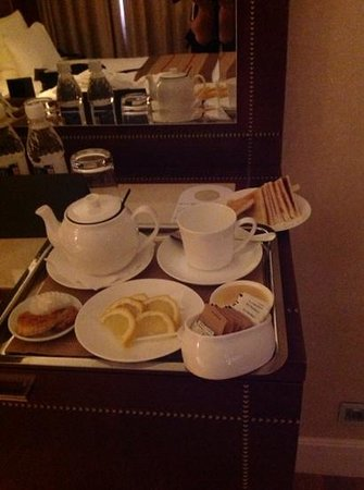 Kempinski Hotel Cathedral Square: the hotel provided this when they learned i wasnt feeling well. amazing!