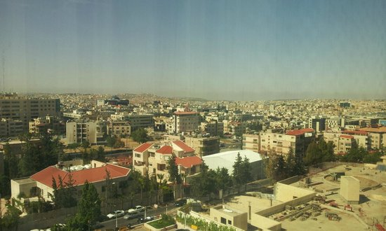 Crowne Plaza Hotel Amman: Il panorama dal 7° piano