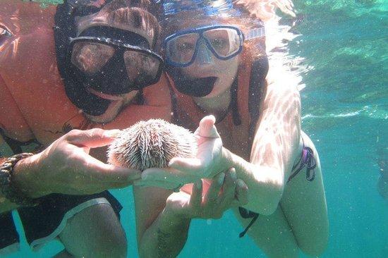 Couples Swept Away : Snorkeling