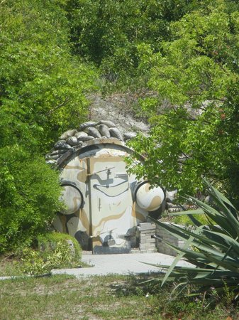 Peanut Island Park : Kennedy Bunker