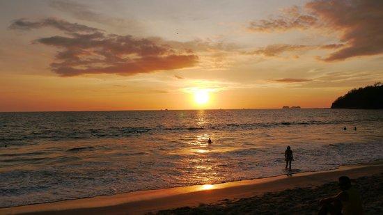 Flamingo Beach Resort And Spa: atardecer