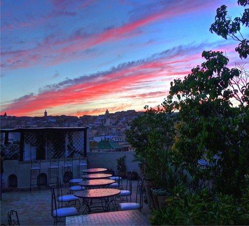 Riad Andalib: Terrasse - Vue panoramique