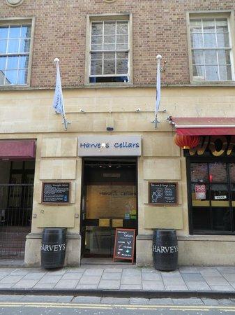 Harveys Cellars: Outside