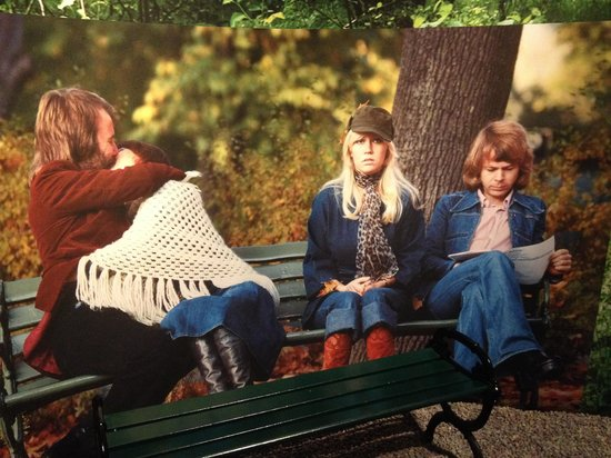 ABBA The Museum: One of the many pictures on display