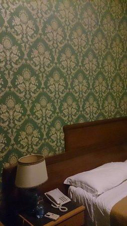 Hotel Virgilio: Vu de la tapisserie !