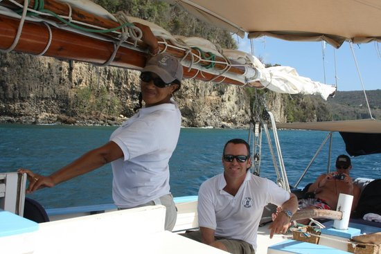 Jus' Sail : Our fearless leaders!