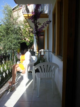Seastar Aparthotel: balcony