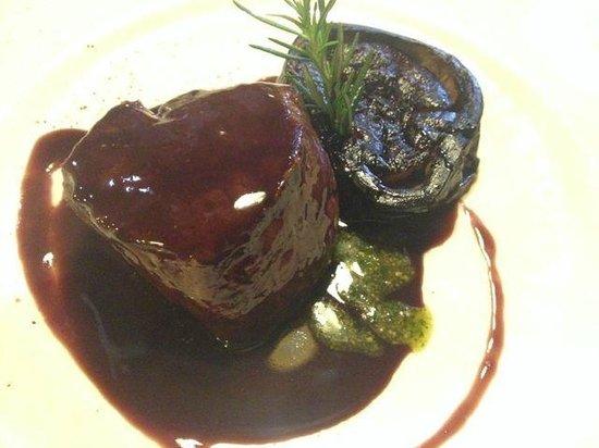 Bresca Restaurant : filet mit aubergine