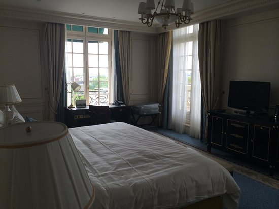 Shangri-La Hotel Paris: Номер