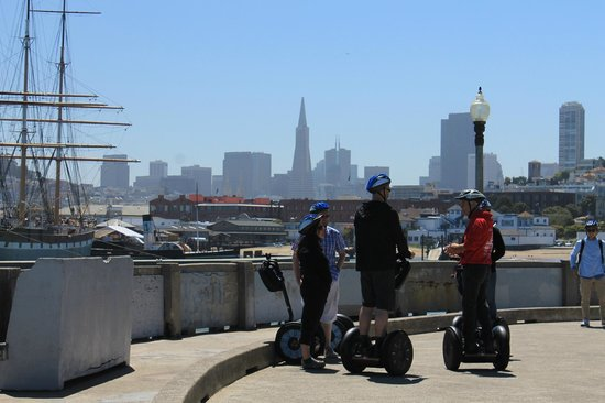 City Segway Tours San Francisco : Pit stop with a view