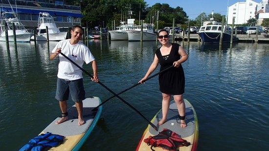 Rudee Inlet Stand Up Paddle: Paddling Like Pros