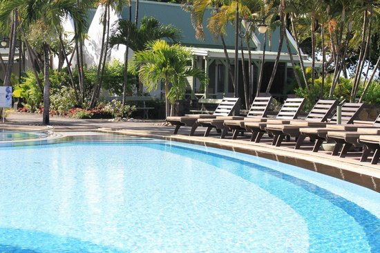 Veranda Grand Baie Hotel & Spa: Бассейн