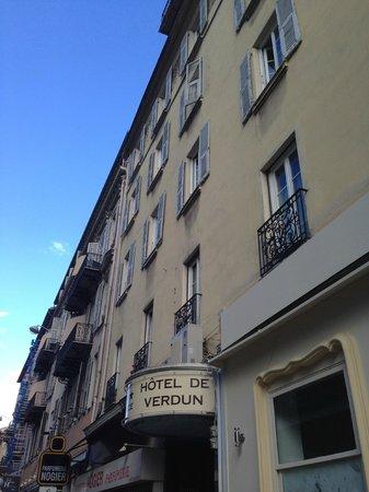 Hotel de Verdun : Außenansicht