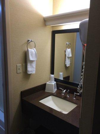 BEST WESTERN Summit Inn: Vanity outside bath area