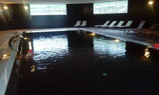Agua Hotels Douro Scala: Piscina interior.