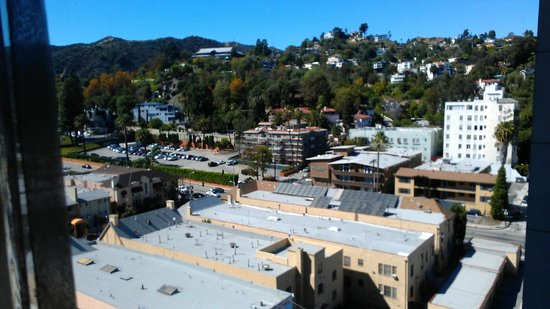 Loews Hollywood Hotel : View of the Hollywood HIlls