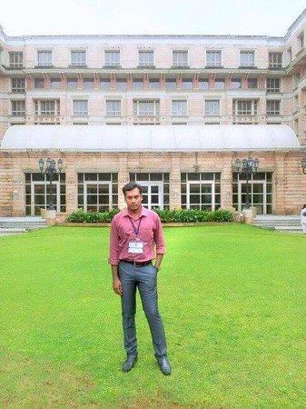 ITC Maratha, Mumbai: the lush green beautiful courtyard !!!!