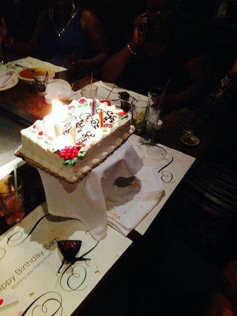 Monteleone Bakery Birthday Cake