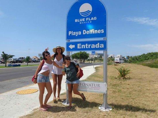 Playa Delfines: entrada!