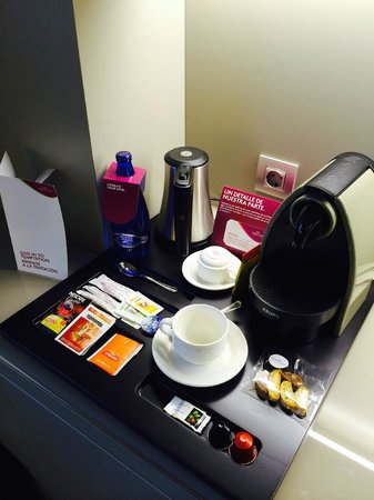 Crowne Plaza Barcelona - Fira Center: Loved this - Nespresso