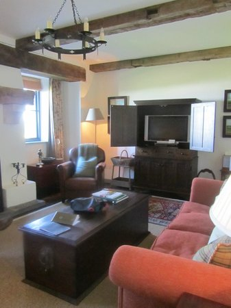 Trump International Golf Links & Hotel: spacious sitting room and small kitchen