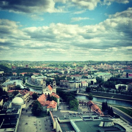 Radisson Blu Hotel Lietuva: Вид из номера