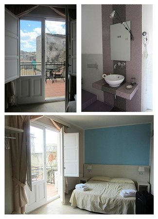 Mastrarua Hotel: Top Floor Room / Balcony
