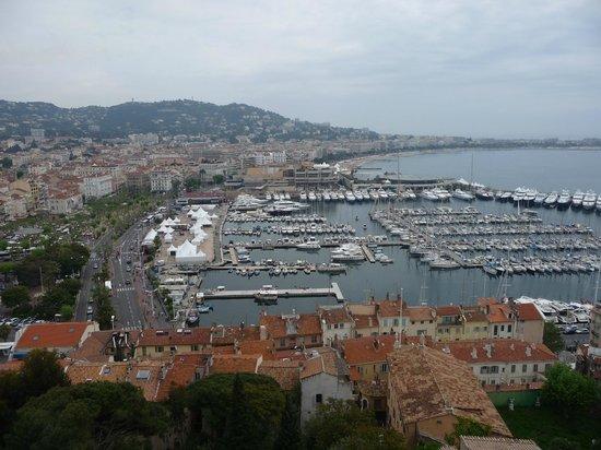 Le Suquet : vue sur le port