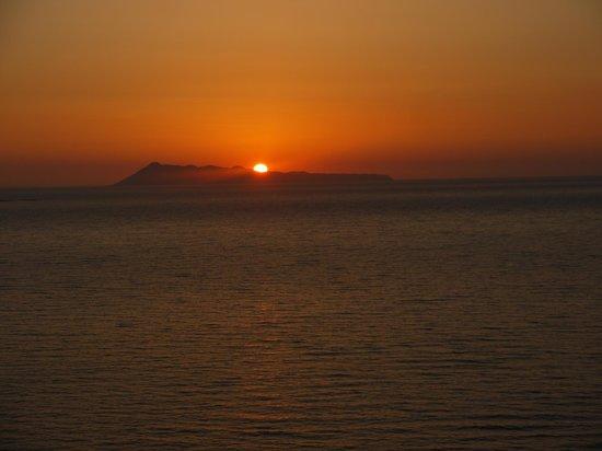 Romanza Hotel: Another wonderful sunset