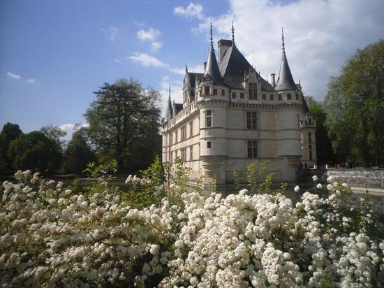 Château d'Azay-le-Rideau : Good view despite works taking place.