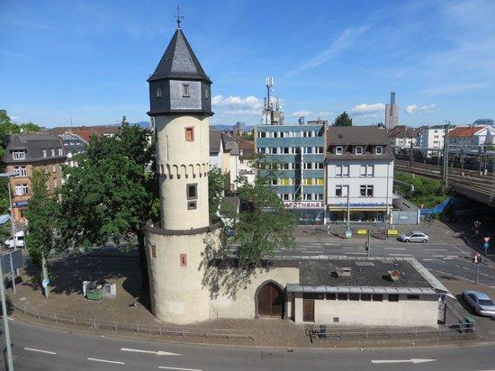 TRYP by Wyndham Frankfurt: The West Watch Tower from my bedroom window