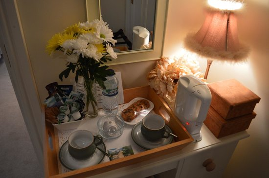 Thorpe Cottage Country Guest House: fresh cookies and hot drinks