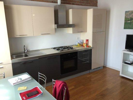 La Maison del Capestrano: cocina
