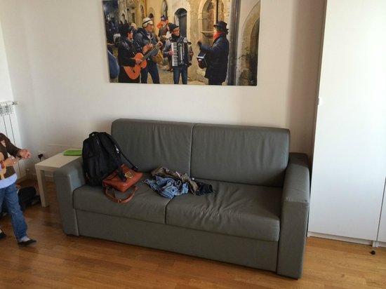 La Maison del Capestrano: sofá cama