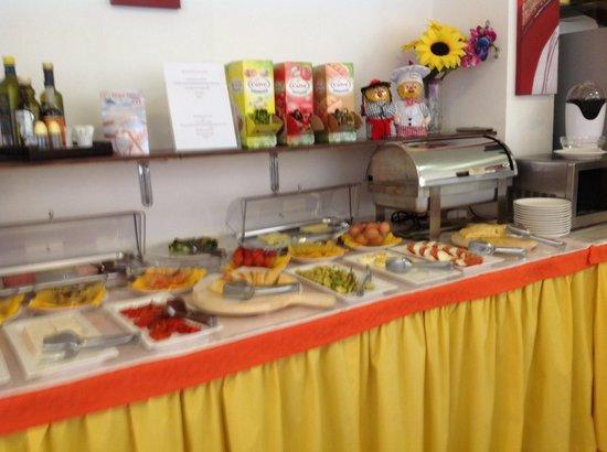 Hotel Stresa: Завтрак