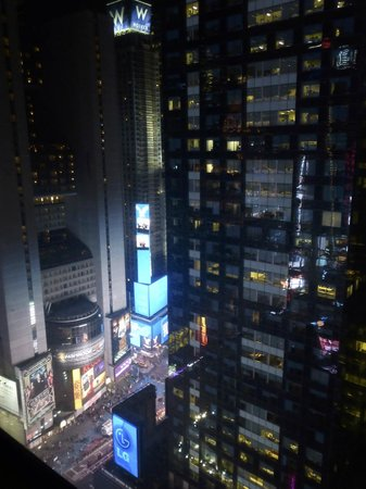 Millennium Broadway Hotel New York : La vue de notre chambre