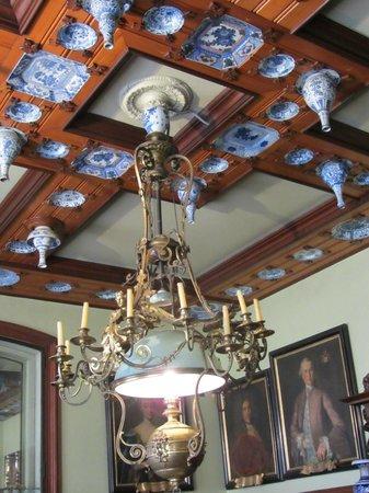 Musee Bartholdi: Plafond original