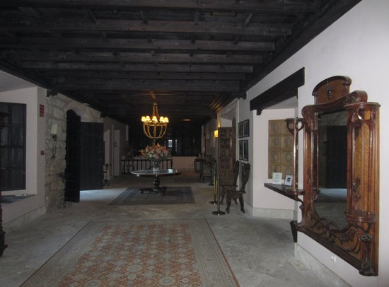Hotel Palacio de Mengibar: Hall de recepción