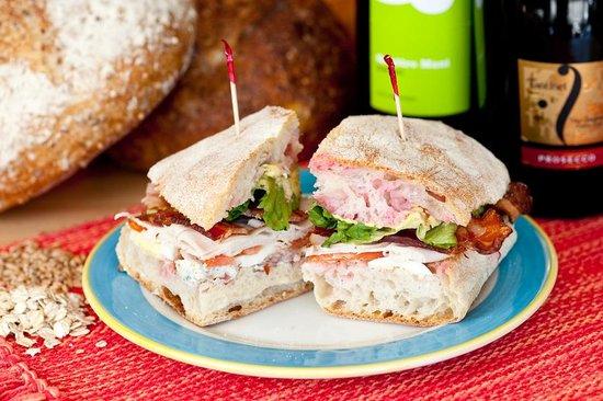 Cole's Peace Artisan Bakery and Sandwich Shop: Cobba-Lotta Sandwich