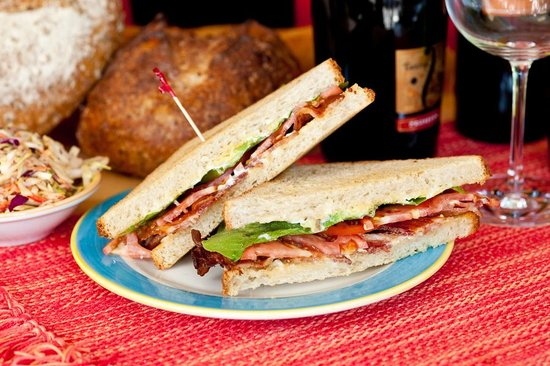 Cole's Peace Artisan Bakery and Sandwich Shop: BLTA Sandwich