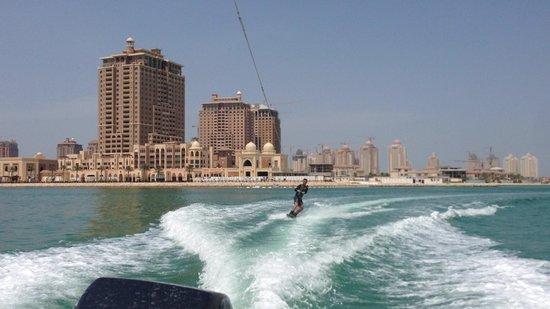 Qatar: Wakeboarding adventure at Katara