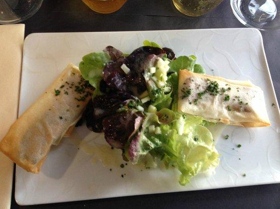 L'Asterie: Croustillant de camembert