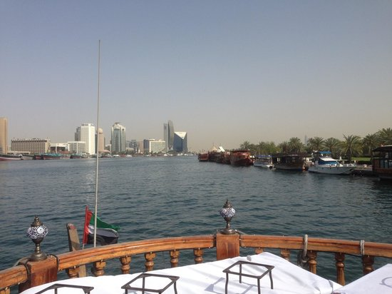 The river tours are a way to explore the rich tapestry of the Dubai Creek & the old markets of D